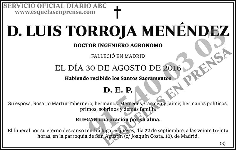 Luis Torroja Menéndez